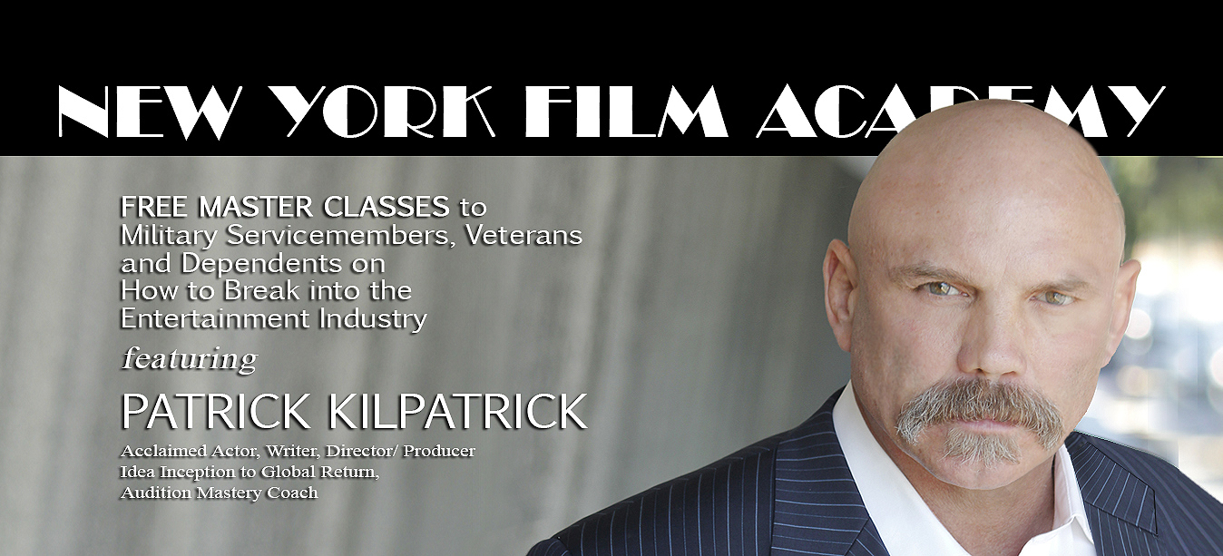 New York Film Academy featuring Patrick Kilpatrick