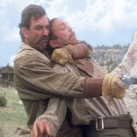 Last Stand At Saber Ridge - Tom Selleck & Patrick Kilpatrick